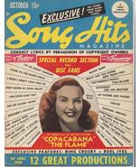 1947 Song Hits Magazine V11 #5 D Durbin Bing Crosby Burl Ives Music Tunes - $7.95