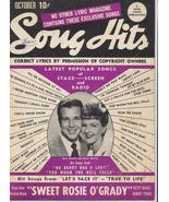 1943 Song Hits V7 #5 Betty Grable Robert Young D Powell Mary Martin Musi... - $7.95