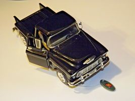 Die-cast 1955 Chevy StepSide Toy Truck  AA19-1517 Vintage image 4
