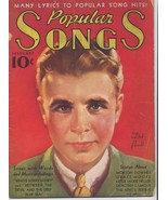 1936 Popular Songs V2 #1 Dorothy Lamour Jackie Heller Morton Downey Grac... - $4.46