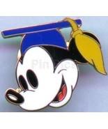 Disney Institute - Mickey Graduate Head (Blue) pin/pins - $29.99