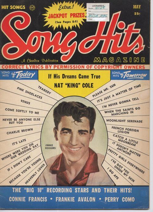 Song hits may 1959