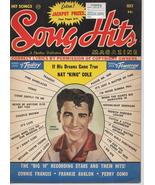1959 Song Hits Magazine Nat King Cole Connie Francis J Rodgers Frankie A... - $12.71