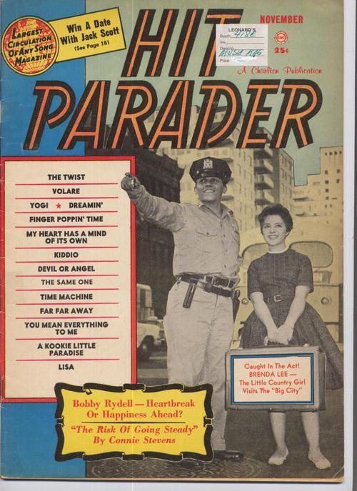 Hit parader nov 1960