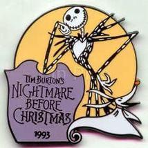 Disney Nightmare Before Christmas Tim Burton - dated 1993 Pin/Pins - $16.44