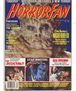 HORRORFAN #3 Wes Craven Clive Barker The Abyss Nightbreed Elm Street 5 M... - $9.31