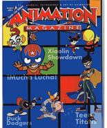 Animation Magazine Comic-Con 2003 Promo Cover Fold-Out Mucha Lucha Teen ... - $7.96