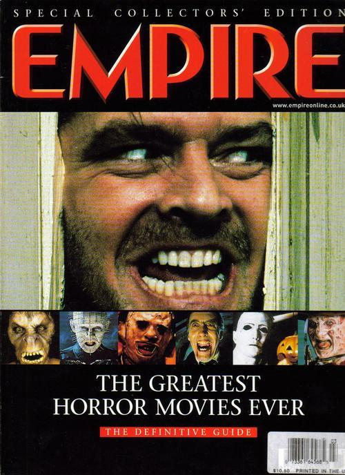 Empire Special Collector's Ed. Greatest Horror Movies