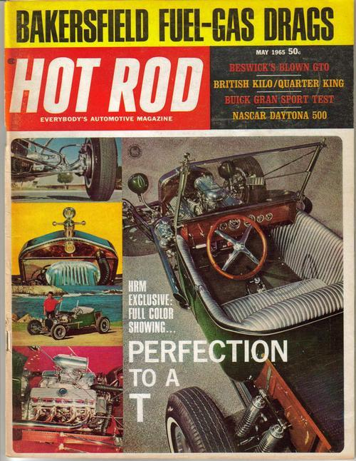 Hot Rod Magazine May 1965 Nascar Daytona 500 Buick Grand Sport Test