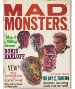 Mad Monsters #6 Boris Karloff Hunchback Of Notre Dame Day Of The Triffid... - $29.71
