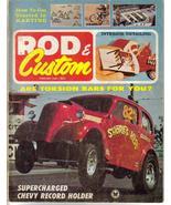 Rod & Custom Feb 1966 Go Karts Torsion Bars Supercharge - $6.95