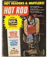 Hot Rod Magazine July 1971Volks Rod 100 Hp VW Engine - $6.95