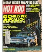 Hot Rod Magazine Jan 1971 Mopar Engine Benny Parsons - $4.95