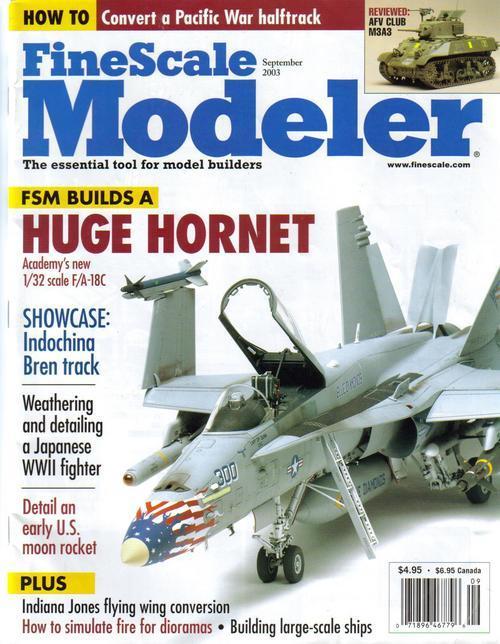 Finescale modeler sept 03