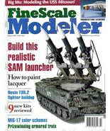 FineScale Modeler Mar 2000 SAM Launcher TSR.2 Fighter M - $7.95