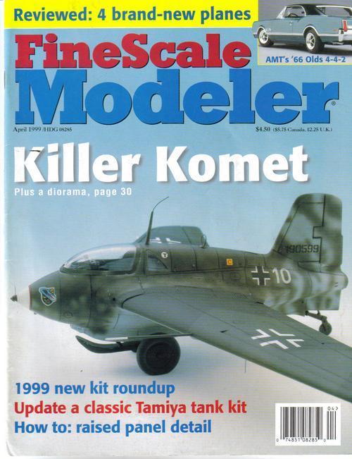 Finescale modeler apr  99