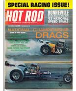Hot Rod Magazine Nov 63 Special Racing Issue Bonneville National Speed T... - $7.95