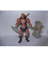 He-Man action figure (Mattel, Masters of the Universe, 2002, complete and mint) - $10.00