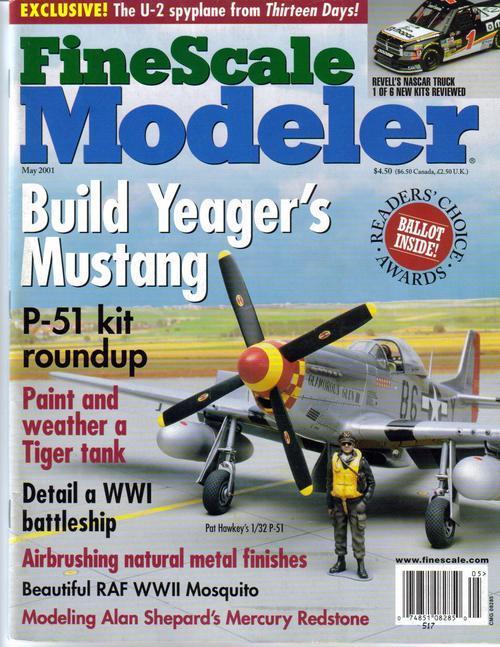 Finescale modeler may 01