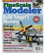 FineScale Modeler May 2001 Yeager's Mustang P-51 Tiger - $7.95