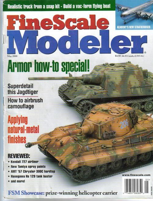 Finescale modeler may 00