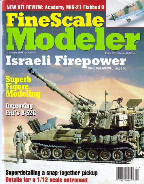 Finescale modeler nov 98