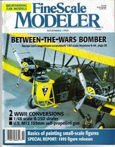 FineScale Modeler Nov 1994 Keystone B-4A B-25 Strafer M12 Kit Builders - $7.95