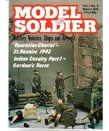 Model Soldier Magazine V1 #9 Operation Chariot St Nazai Military Modeling - $16.95
