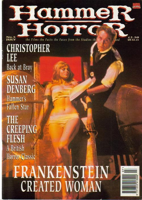 Primary image for Hammer Horror #5 Susan Denberg Creeping Flesh Frankenstein Created Woman