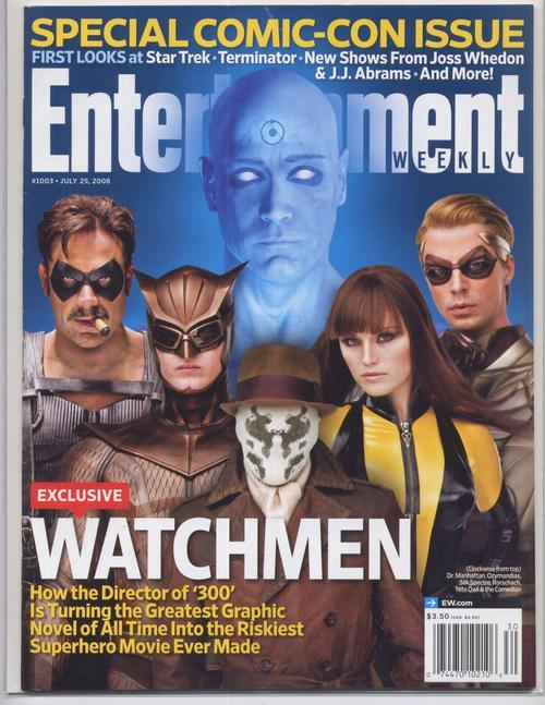 SDCC 08 ENTERTAINMENT WEEKLY Magazine Watchmen Special