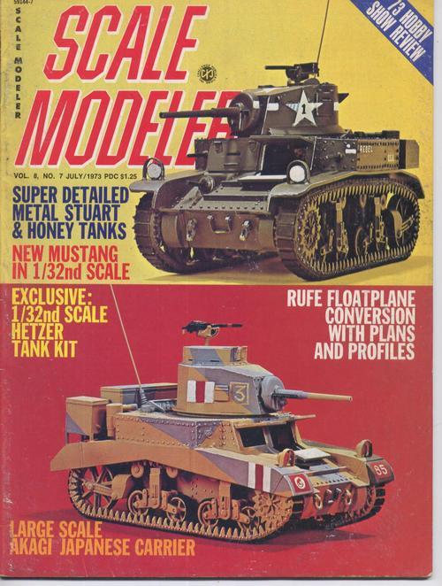Scale modeler july 73