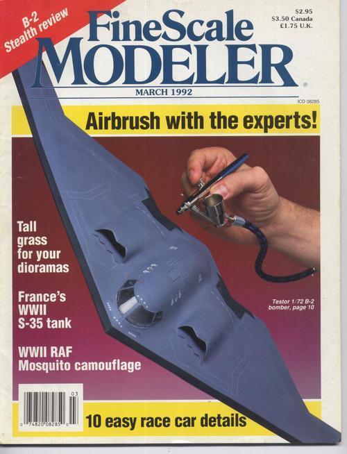 Finescale modeler mar 92