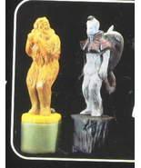 Wizard  of Oz Cowardly Lion & Money Salt & Pepper S&P shakers - $34.99