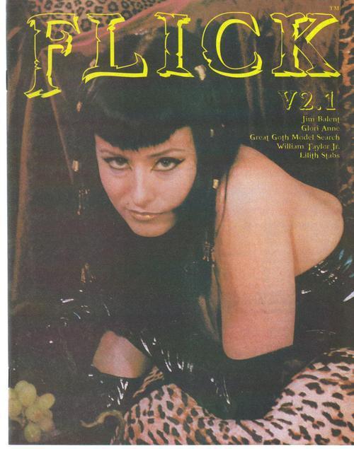 Flick Magazine V2.1 Jim Balent Glori Anne Lilith Stabs