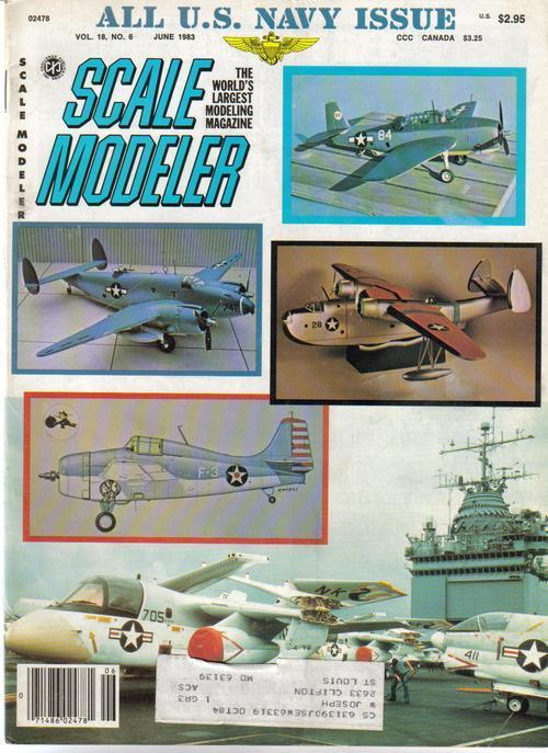 Scale modeler all navy