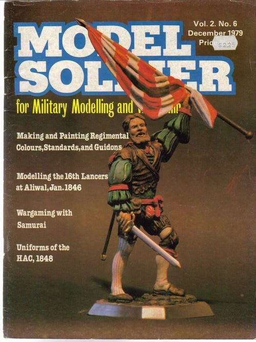 Model Soldier Magazine V2 #6 16th Lancers at Aliwal Sam Military Modeling