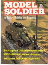 Model Soldier Magazine V2 #4 KFZ19 Field Telephone Vehicles Military Mod... - $14.95