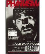 Phantasma #1 Premiere Issue Boris Karloff Dracula Old Dark House Ken Rus... - $15.26