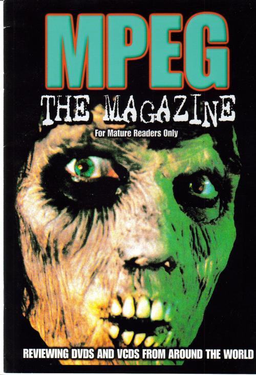 MPEG The Magazine #1 U.K. Premiere Issue DVD Reviews Fr