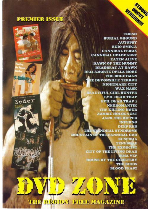 DVD Zone #1 U.K. Premiere Issue Torso Burial Ground Aut