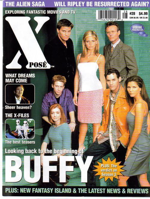 Xpose #28 UK Buffy X-Files Alien Saga Sci-Fi