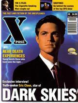Xpose #8 UK Dark Skies X-Files Sightings Eric Close Near Death Experiences - $7.96