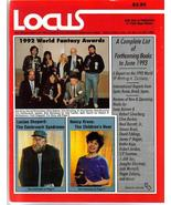 Locus #383 1992 World Fantasy Awards Lucius Shepard Nancy Kress - $7.96
