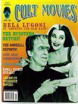 Cult Movies #16 The Munsters Bela Lugosi Godzilla John Agar Korla Pandit - $8.46