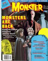 MonsterLand #5 Roddy McDowall Sting Jennifer Beals Day Of The Dead Karloff - $12.71