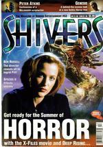 Shivers #53 UK Horror Genesis Species 2 X-Files Movie Monster Terror - $9.31