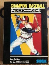 Sega Champion Baseball Sc 3000 Or Sg 1000 - $52.31