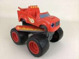Blaze Monster Machines Transforming Blaze Jet Red Truck Wings 2014 Mattel Toy - $39.55
