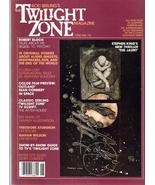 Rod Serling's Twilight Zone Magazine #3 R Bloch S King Grahan Wilson Out... - $10.36