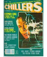 Chillers #3 Stephen King Wolfen Outland Hell Night Clonus Horror The Vis... - $18.66